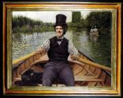 Gustave Caillebotte <br> Canottieri (1878)